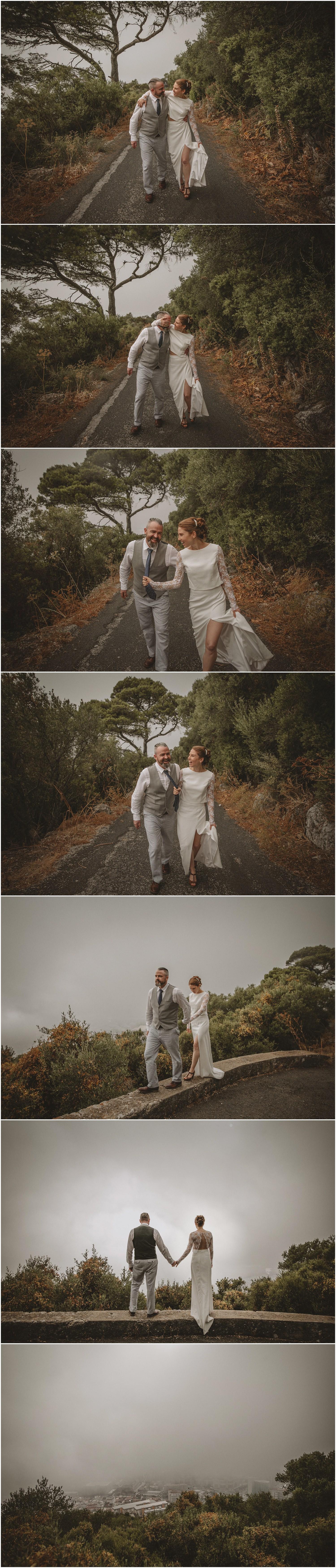 gibraltar wedding photographer, oscar guillen, wedding gibraltar, elopement in gibraltar,